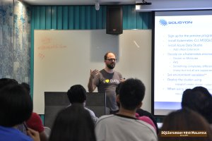 SQLSaturday 818 Malaysia 26 Jan 2019 at Microsoft Malaysia SQLSaturday is a training event for SQL Server professionals and those wanting to learn about SQL Server PC031