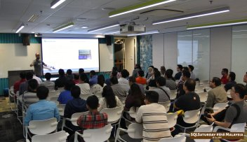 SQLSaturday 818 Malaysia 26 Jan 2019 at Microsoft Malaysia SQLSaturday is a training event for SQL Server professionals and those wanting to learn about SQL Server PC033