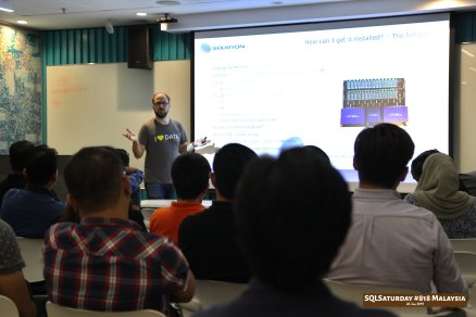SQLSaturday 818 Malaysia 26 Jan 2019 at Microsoft Malaysia SQLSaturday is a training event for SQL Server professionals and those wanting to learn about SQL Server PC034