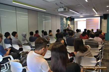 SQLSaturday 818 Malaysia 26 Jan 2019 at Microsoft Malaysia SQLSaturday is a training event for SQL Server professionals and those wanting to learn about SQL Server PC044