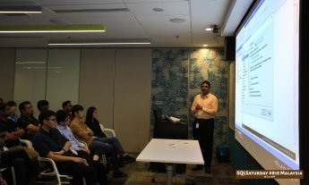 SQLSaturday 818 Malaysia 26 Jan 2019 at Microsoft Malaysia SQLSaturday is a training event for SQL Server professionals and those wanting to learn about SQL Server PC057