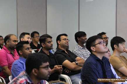 SQLSaturday 818 Malaysia 26 Jan 2019 at Microsoft Malaysia SQLSaturday is a training event for SQL Server professionals and those wanting to learn about SQL Server PC063