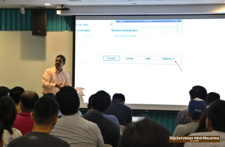 SQLSaturday 818 Malaysia 26 Jan 2019 at Microsoft Malaysia SQLSaturday is a training event for SQL Server professionals and those wanting to learn about SQL Server PC064