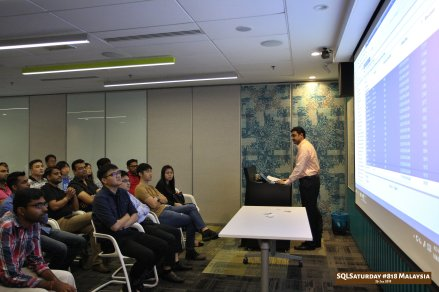 SQLSaturday 818 Malaysia 26 Jan 2019 at Microsoft Malaysia SQLSaturday is a training event for SQL Server professionals and those wanting to learn about SQL Server PC069