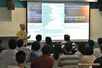 SQLSaturday 818 Malaysia 26 Jan 2019 at Microsoft Malaysia SQLSaturday is a training event for SQL Server professionals and those wanting to learn about SQL Server PC112