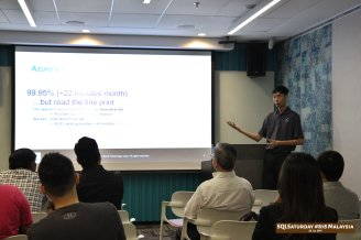 SQLSaturday 818 Malaysia 26 Jan 2019 at Microsoft Malaysia SQLSaturday is a training event for SQL Server professionals and those wanting to learn about SQL Server PC158