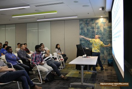 SQLSaturday 818 Malaysia 26 Jan 2019 at Microsoft Malaysia SQLSaturday is a training event for SQL Server professionals and those wanting to learn about SQL Server PC170