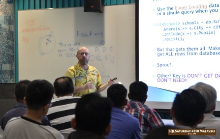 SQLSaturday 818 Malaysia 26 Jan 2019 at Microsoft Malaysia SQLSaturday is a training event for SQL Server professionals and those wanting to learn about SQL Server PC178