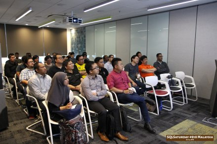 SQLSaturday 818 Malaysia 26 Jan 2019 at Microsoft Malaysia SQLSaturday is a training event for SQL Server professionals and those wanting to learn about SQL Server PC181