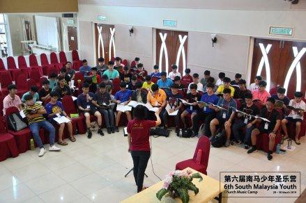 马来西亚 第六届南马少年圣乐营 6th South Malaysia Youth Church Music Camp B01-012