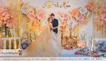 Malaysia Kuala Lumpur Wedding Event Kiong Art Wedding Deco Decoration One-stop Wedding Planning of Kent and Hann Wedding at Huang Cheng Banquet Muar A10-A01-10