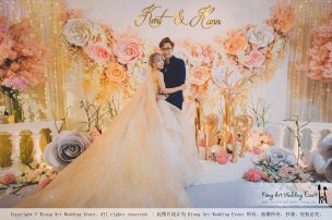 Malaysia Kuala Lumpur Wedding Event Kiong Art Wedding Deco Decoration One-stop Wedding Planning of Kent and Hann Wedding at Huang Cheng Banquet Muar A10-A01-11