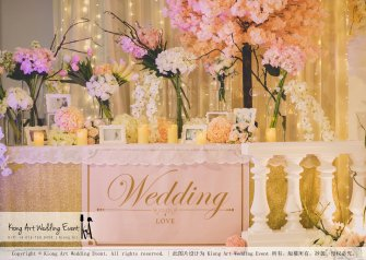 Malaysia Kuala Lumpur Wedding Event Kiong Art Wedding Deco Decoration One-stop Wedding Planning of Kent and Hann Wedding at Huang Cheng Banquet Muar A10-A01-46