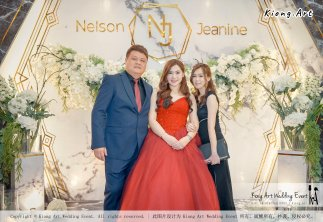Malaysia Kuala Lumpur Wedding Event Kiong Art Wedding Deco Decoration One-stop Wedding Planning of Nelson and Jeanine Wedding at Grand Sea View Restaurant A11-A05-09