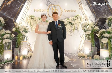 Malaysia Kuala Lumpur Wedding Event Kiong Art Wedding Deco Decoration One-stop Wedding Planning of Nelson and Jeanine Wedding 陈永馨 中国好声音 A11-A01-10