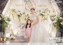 Malaysia Kuala Lumpur Wedding Event Kiong Art Wedding Deco Decoration One-stop Wedding Planning of Nelson and Jeanine Wedding 陈永馨 中国好声音 A11-A01-25