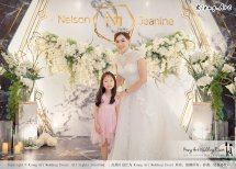 Malaysia Kuala Lumpur Wedding Event Kiong Art Wedding Deco Decoration One-stop Wedding Planning of Nelson and Jeanine Wedding 陈永馨 中国好声音 A11-A01-25