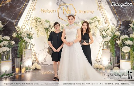 Malaysia Kuala Lumpur Wedding Event Kiong Art Wedding Deco Decoration One-stop Wedding Planning of Nelson and Jeanine Wedding 陈永馨 中国好声音 A11-A01-26