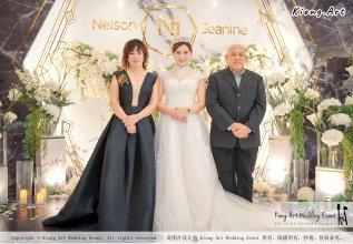 Malaysia Kuala Lumpur Wedding Event Kiong Art Wedding Deco Decoration One-stop Wedding Planning of Nelson and Jeanine Wedding 陈永馨 中国好声音 A11-A01-27