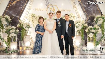 Malaysia Kuala Lumpur Wedding Event Kiong Art Wedding Deco Decoration One-stop Wedding Planning of Nelson and Jeanine Wedding 陈永馨 中国好声音 A11-A02-01