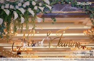 Malaysia Kuala Lumpur Wedding Event Kiong Art Wedding Deco Decoration One-stop Wedding Planning of Nelson and Jeanine Wedding 陈永馨 中国好声音 A11-A02-02