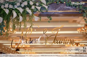 Malaysia Kuala Lumpur Wedding Event Kiong Art Wedding Deco Decoration One-stop Wedding Planning of Nelson and Jeanine Wedding 陈永馨 中国好声音 A11-A02-02