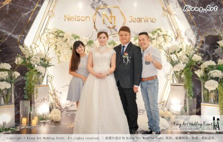 Malaysia Kuala Lumpur Wedding Event Kiong Art Wedding Deco Decoration One-stop Wedding Planning of Nelson and Jeanine Wedding 陈永馨 中国好声音 A11-A02-05