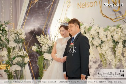 Malaysia Kuala Lumpur Wedding Event Kiong Art Wedding Deco Decoration One-stop Wedding Planning of Nelson and Jeanine Wedding 陈永馨 中国好声音 A11-A02-06