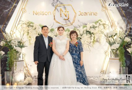 Malaysia Kuala Lumpur Wedding Event Kiong Art Wedding Deco Decoration One-stop Wedding Planning of Nelson and Jeanine Wedding 陈永馨 中国好声音 A11-A02-18