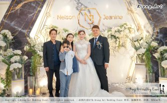 Malaysia Kuala Lumpur Wedding Event Kiong Art Wedding Deco Decoration One-stop Wedding Planning of Nelson and Jeanine Wedding 陈永馨 中国好声音 A11-A02-19