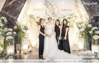 Malaysia Kuala Lumpur Wedding Event Kiong Art Wedding Deco Decoration One-stop Wedding Planning of Nelson and Jeanine Wedding 陈永馨 中国好声音 A11-A02-20