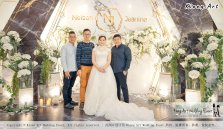 Malaysia Kuala Lumpur Wedding Event Kiong Art Wedding Deco Decoration One-stop Wedding Planning of Nelson and Jeanine Wedding 陈永馨 中国好声音 A11-A02-22
