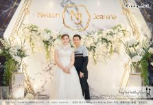 Malaysia Kuala Lumpur Wedding Event Kiong Art Wedding Deco Decoration One-stop Wedding Planning of Nelson and Jeanine Wedding 陈永馨 中国好声音 A11-A02-23