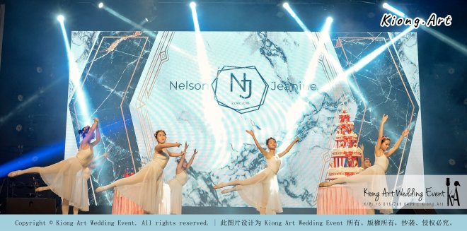 Malaysia Kuala Lumpur Wedding Event Kiong Art Wedding Deco Decoration One-stop Wedding Planning of Nelson and Jeanine Wedding 陈永馨 中国好声音 A11-A03-03