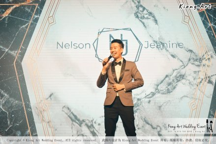 Malaysia Kuala Lumpur Wedding Event Kiong Art Wedding Deco Decoration One-stop Wedding Planning of Nelson and Jeanine Wedding 陈永馨 中国好声音 A11-A03-19