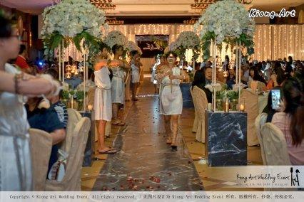 Malaysia Kuala Lumpur Wedding Event Kiong Art Wedding Deco Decoration One-stop Wedding Planning of Nelson and Jeanine Wedding 陈永馨 中国好声音 A11-A03-20