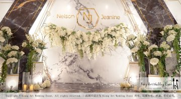 Malaysia Kuala Lumpur Wedding Event Kiong Art Wedding Deco Decoration One-stop Wedding Planning of Nelson and Jeanine Wedding 陈永馨 中国好声音 A11-A04-01