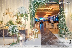 Malaysia Kuala Lumpur Wedding Event Kiong Art Wedding Deco Decoration One-stop Wedding Planning of Nelson and Jeanine Wedding 陈永馨 中国好声音 A11-A04-02