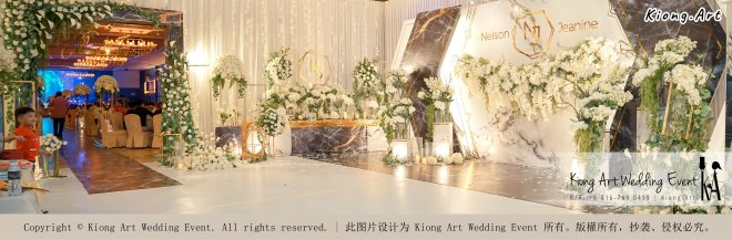Malaysia Kuala Lumpur Wedding Event Kiong Art Wedding Deco Decoration One-stop Wedding Planning of Nelson and Jeanine Wedding 陈永馨 中国好声音 A11-A04-04