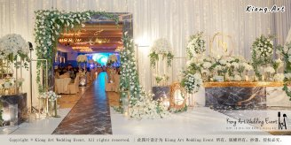 Malaysia Kuala Lumpur Wedding Event Kiong Art Wedding Deco Decoration One-stop Wedding Planning of Nelson and Jeanine Wedding 陈永馨 中国好声音 A11-A04-05