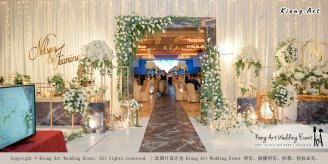 Malaysia Kuala Lumpur Wedding Event Kiong Art Wedding Deco Decoration One-stop Wedding Planning of Nelson and Jeanine Wedding 陈永馨 中国好声音 A11-A04-06