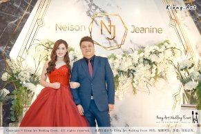 Malaysia Kuala Lumpur Wedding Event Kiong Art Wedding Deco Decoration One-stop Wedding Planning of Nelson and Jeanine Wedding 陈永馨 中国好声音 A11-A04-16