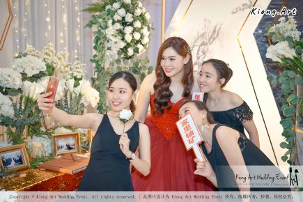 Malaysia Kuala Lumpur Wedding Event Kiong Art Wedding Deco Decoration One-stop Wedding Planning of Nelson and Jeanine Wedding 陈永馨 中国好声音 A11-A04-20