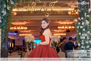 Malaysia Kuala Lumpur Wedding Event Kiong Art Wedding Deco Decoration One-stop Wedding Planning of Nelson and Jeanine Wedding 陈永馨 中国好声音 A11-A04-23