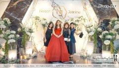 Malaysia Kuala Lumpur Wedding Event Kiong Art Wedding Deco Decoration One-stop Wedding Planning of Nelson and Jeanine Wedding 陈永馨 中国好声音 A11-A04-27