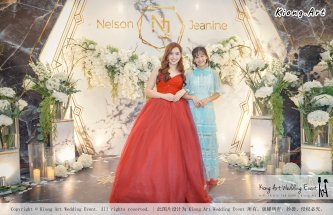 Malaysia Kuala Lumpur Wedding Event Kiong Art Wedding Deco Decoration One-stop Wedding Planning of Nelson and Jeanine Wedding 陈永馨 中国好声音 A11-A05-12