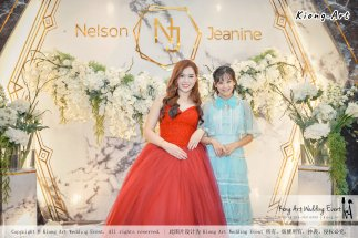 Malaysia Kuala Lumpur Wedding Event Kiong Art Wedding Deco Decoration One-stop Wedding Planning of Nelson and Jeanine Wedding 陈永馨 中国好声音 A11-A05-13