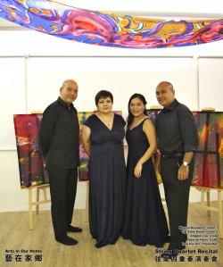 String Quartet Recital Arts in Our Home Batu Pahat Johor Malaysia 弦乐四重奏演奏会 艺在家乡 峇株巴辖 柔佛 马来西亚 A018