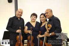 String Quartet Recital Arts in Our Home Batu Pahat Johor Malaysia 弦乐四重奏演奏会 艺在家乡 峇株巴辖 柔佛 马来西亚 A010