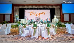 Malaysia Kuala Lumpur Wedding Decoration Kiong Art Wedding Deco One-stop Wedding Planning Selangor of Zhe and Ying Wedding at Hotel Equatorial Melaka A12-E01-22